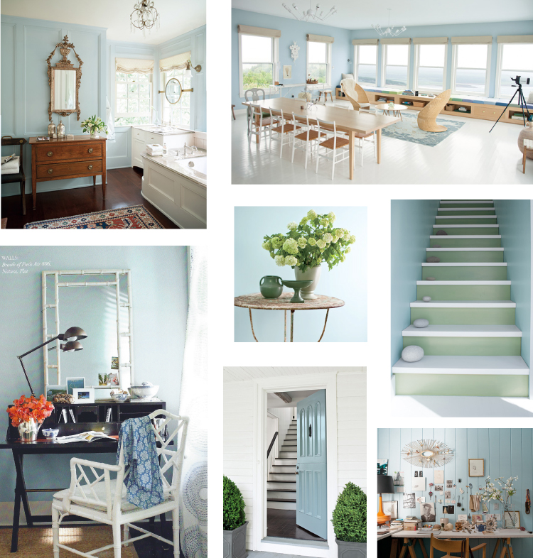 Scandinavian Colors Benjamin Moore O2 Pilates