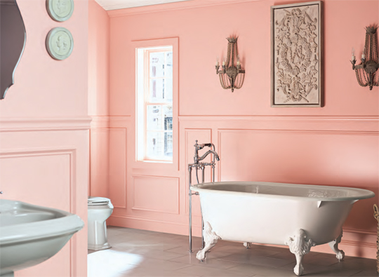 Benjamin Moore Color Trends 2014 Palette - Cozy•Stylish•Chic