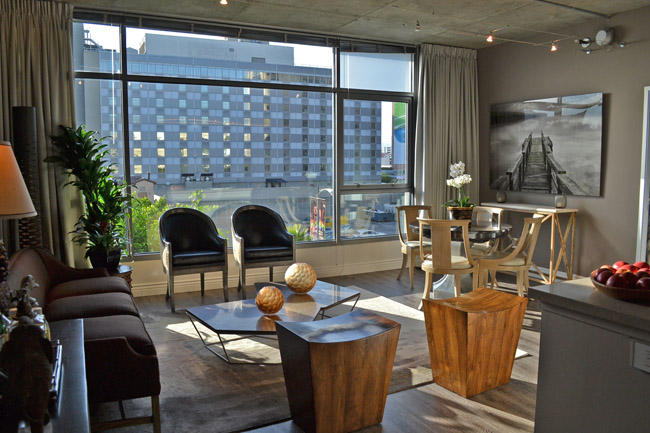 Modern and Masculine Interior Design at Met Lofts CozyStylishChic