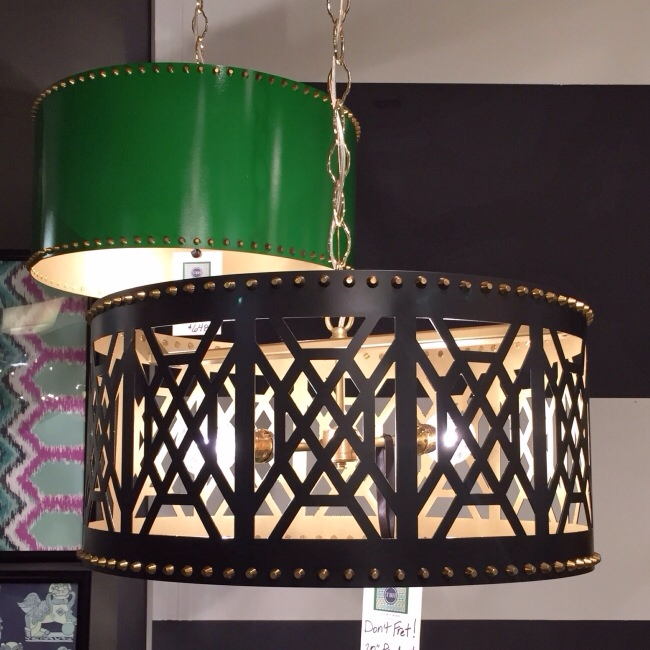 Don't Fret Pendant from Taylor Burke Home via Cozy Stylish Chic