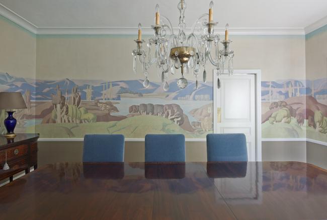 Millard Sheets mural-Huntington Board Room