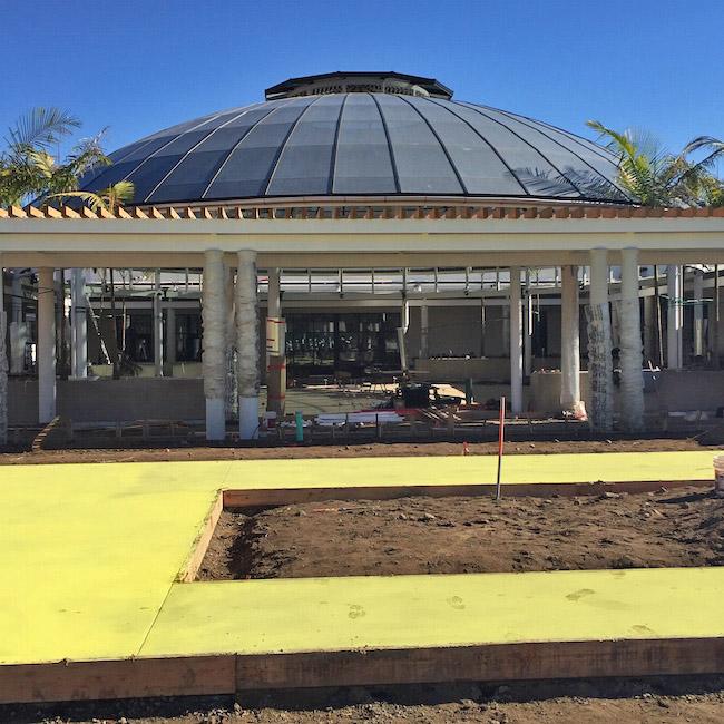 Rose Hills Foundation Garden Court - in progress