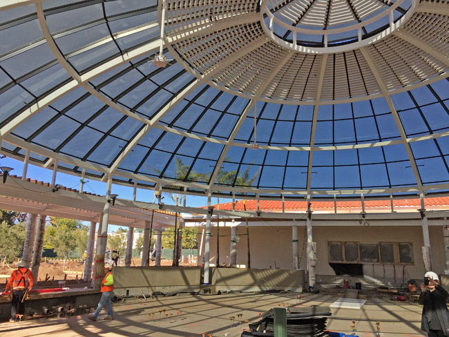Glass Dome at The Huntington