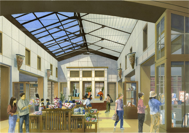 The Huntington Store-rendering